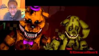 "[FNAF SFM] ""Salvaged"" REACTION 