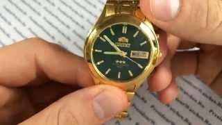 Часы Orient EM5V001F с автоподзаводом - видеообзоры механических часов от PresidentWatches.Ru