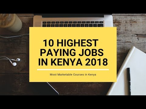 Most Marketable Courses In Kenya 2018