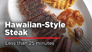 How To Grill Teriyaki Steak - Hawaiian Style