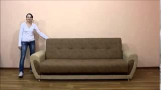 мишель, диван, мебельная фабрика катунь(Детали: http://katun.net.ua Новинка 2015 года. Диван на основе классической привычной системе трансформации книжка...., 2015-06-30T12:33:47.000Z)
