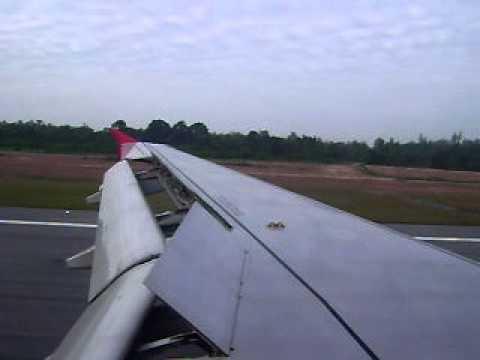 (FD3131) Thai AirAsia A320-200 Landing @ Hatyai (VTSS)