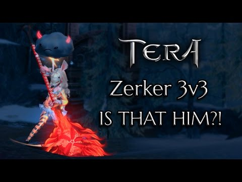 TERA Zerker PvP: Syolo 3v3 Match - IS THAT HIM?!