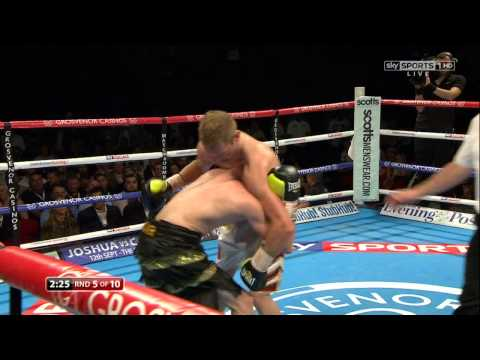 Andy Townend vs Lee Glover / Full Fight 05.06.2015 / HD 720
