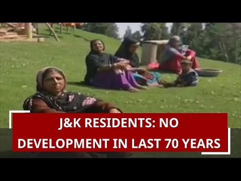 J&K residents: No development in last 70 years | Zee News Ground Report