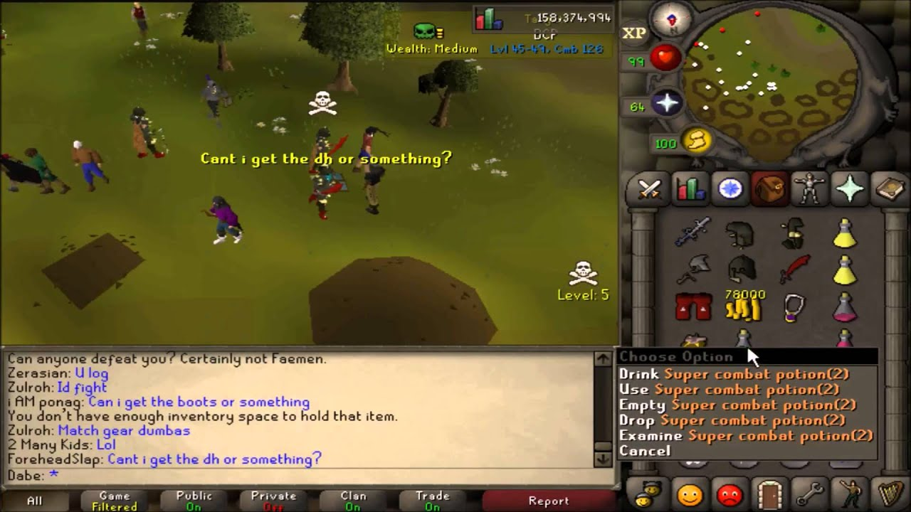 osrs how to start nmz