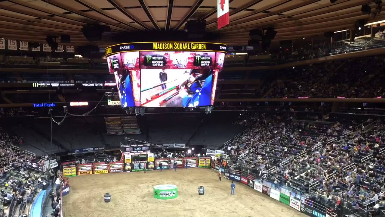 Rodeo Madison Square Garden 2015 Youtube