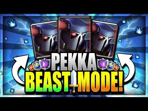 UNDEFEATED GOD MODE DECK!! PEKKA BEATDOWN is OP!! Clash Royale Pekka Deck 2018