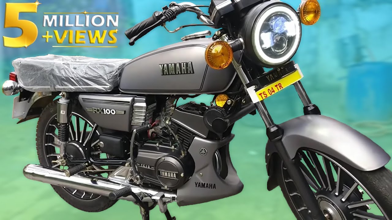 Every Yamaha RX100 lover must see this factory reset unit [Video]