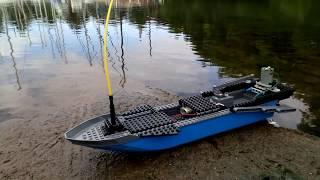 [MOC] Lego RC Fast Boat - DIY