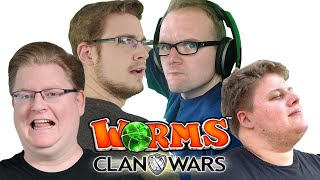 2er Team vs 2er Team 🎮 Worms Clan Wars