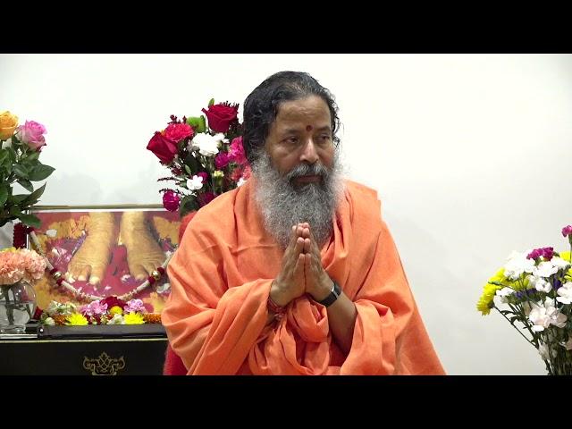 Darshan with Paramahamsa Prajnanananda at Temple of Compassion, Texas on October 1, 2021 Evening