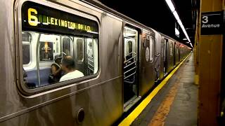 MTA New York City Subway R142A (6) Train Terminating @ 3 Avenue-138 Street