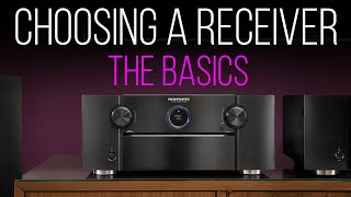 How To Choose A Home Theater Receiver  A Buying Guide