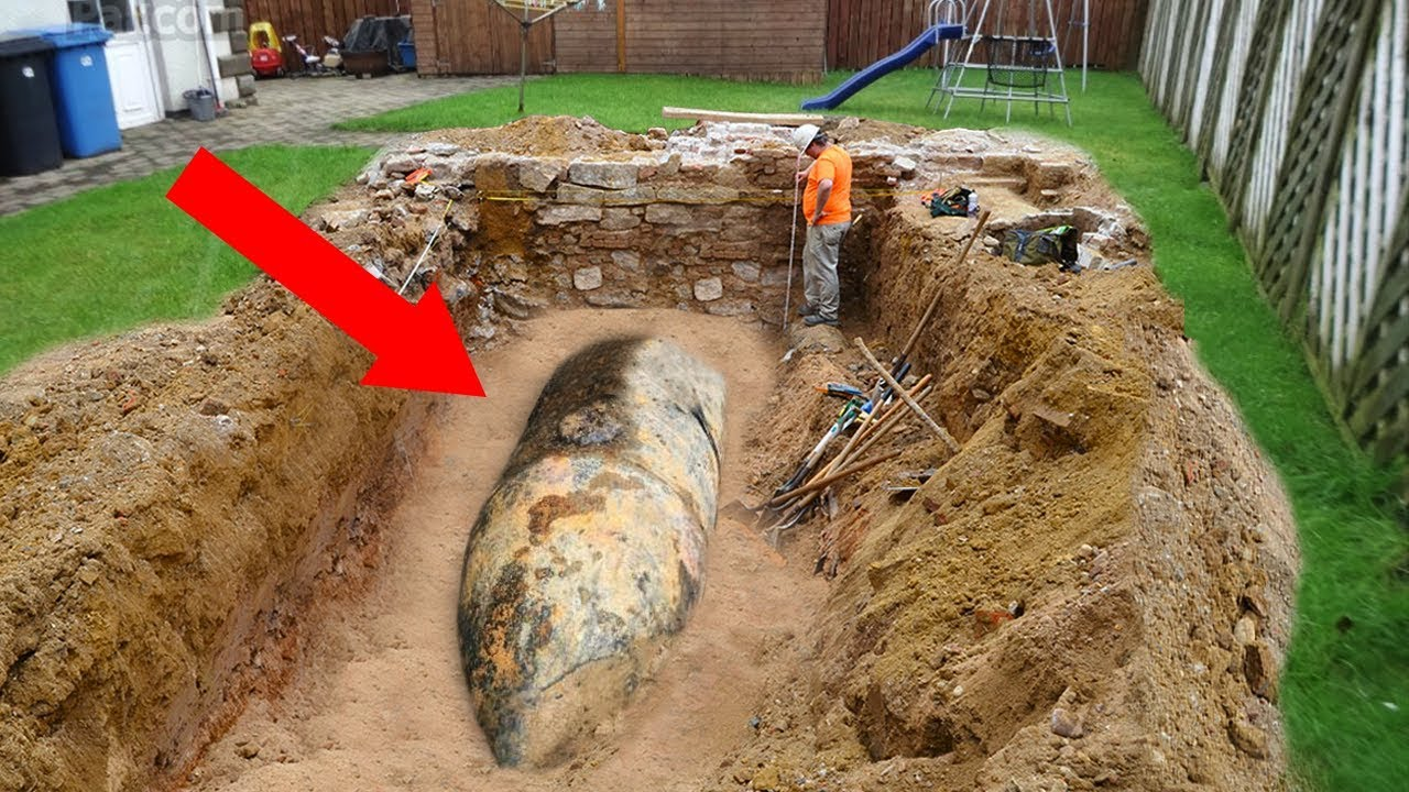 Strangest Things People Found In Their Backyard Youtube