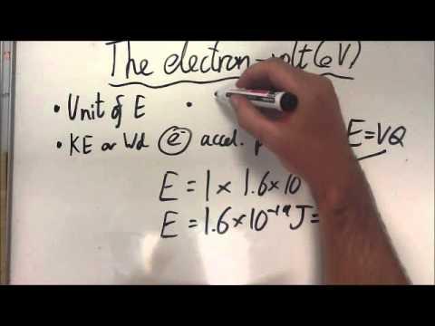 The electron-volt