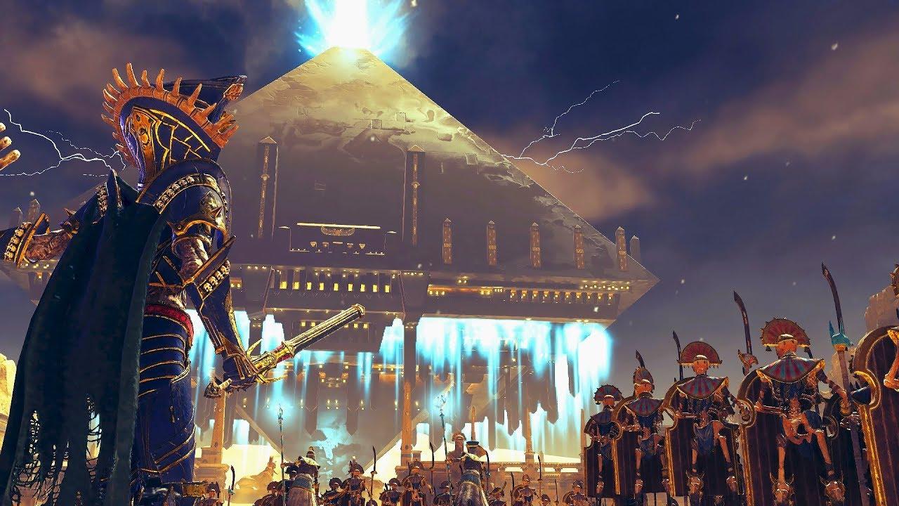 DE LA FIN DES TEMPS (Partie 14) - La Pyramide de NAGASH (Total War : WARHAMMER 2) [FR]