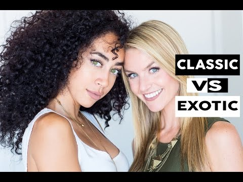 Who is Attractive? Blonde vs Exotic - Social Experiment