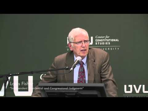 The Unitary Executive and Inherent Executive Power | Louis Fisher