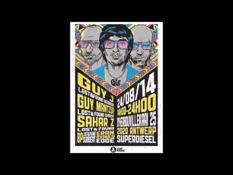 Guy J Live @ Edge Lost & Found, Super Diesel Antwerp, Belgium August 2014