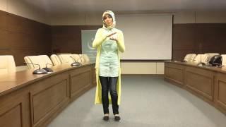Maşide TUNÇHAN İşaret Dili Gözleri Aşka Gülen Video