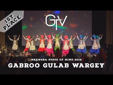 Gabroo Gulab Wargey – First Place – Bhangra State of Mind 2019
