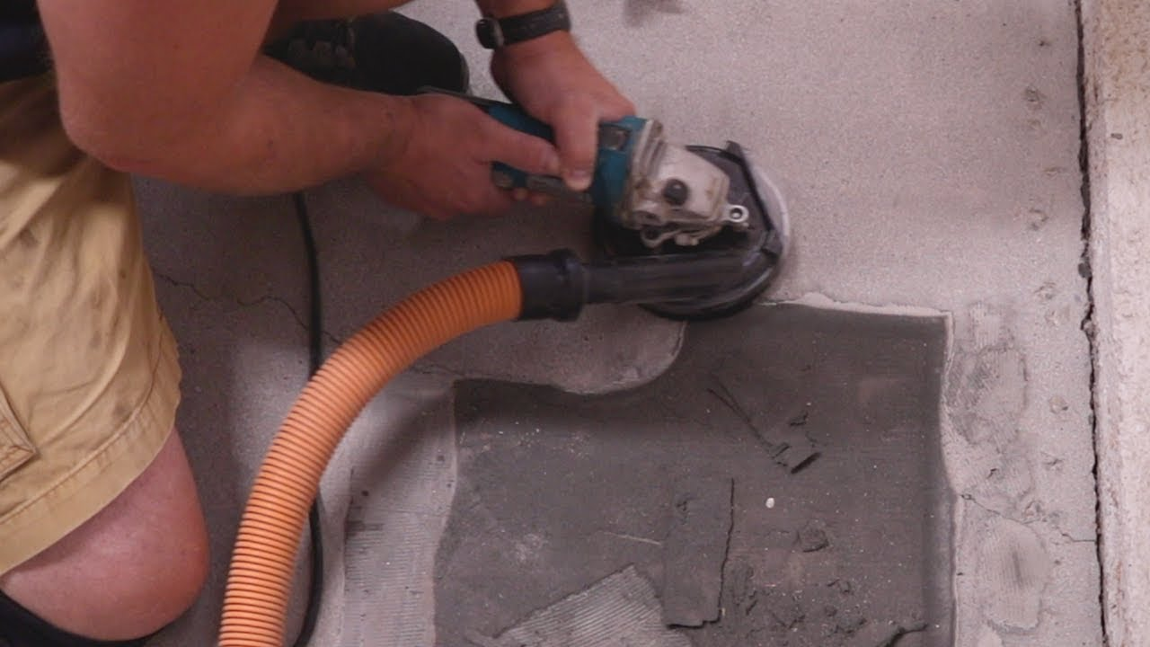 How To Remove Glue Epoxy Paint From Concrete Floors Diy Style