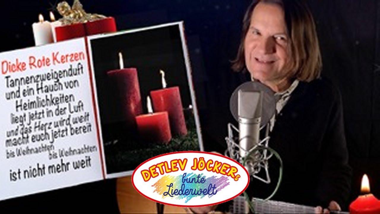 Weihnachtslied: Detlev Jöcker: Dicke rote Kerzen - (Neu) Mitsing ...