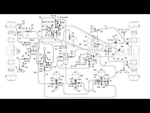 Ремонт гидросистемы АМКОДОР-342В (Часть 2 Диагностика и ремонт гидросистемы тормозов Амкодор-342В)