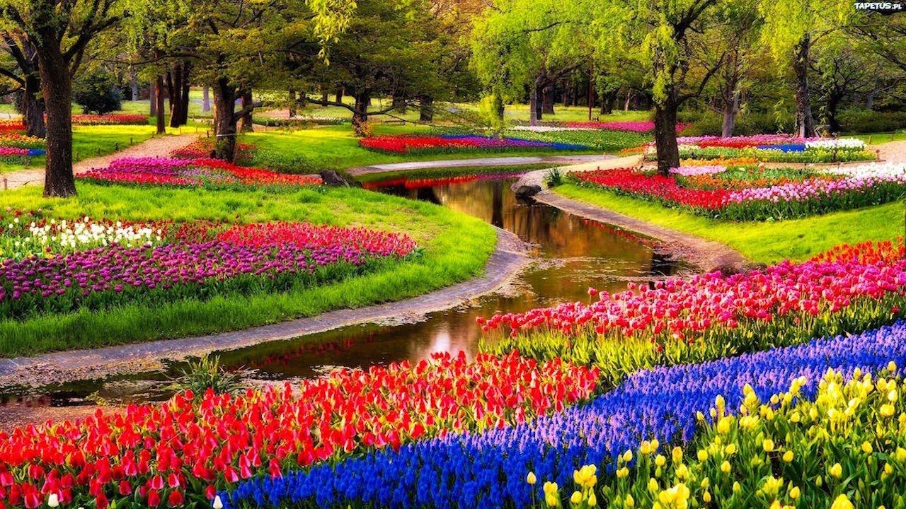 Drop Dead Gorgeous 10 Best Flower Gardens Around The World Youtube