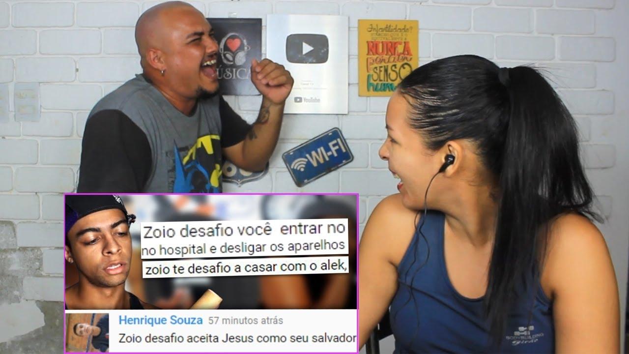Download REAGINDO A OS COMENTÁRIOS DO ZOIO NÃO SÃO MAIS OS MESMO!! ( Douglassola )