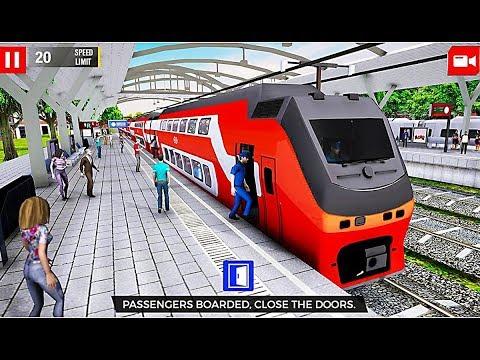 Euro Train Driving Games 2019 - Level 1