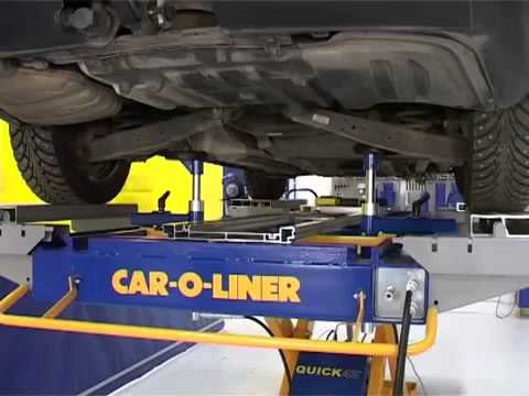 Car O Liner Quick 42 Technician Hand Control System Youtube