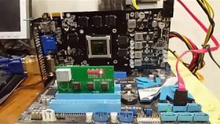 Ламповый ремонт видеокарты GTX 550ti