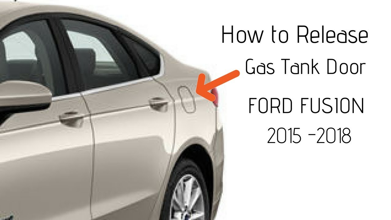 Gas Tank Release On For Ford Fusion 2017 To 2018