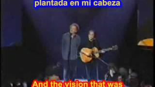 The sounds of silence - Simon & Garfunkel ( SUBTITULADO ESPAÑOL INGLES )