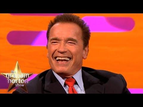 Arnold Schwarzenegger Talks About His Famous Predator & Terminator Lines | The Graham Norton Show