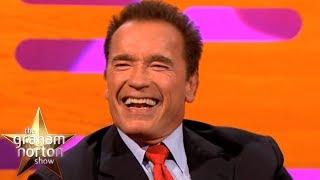 Arnold Schwarzenegger Talks About His Famous Predator & Terminator Lines   The Graham Norton Show