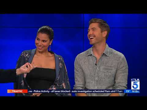 """Eric Winter& Roselyn Sanchez On Pregnancy & """"Sebi and the Land of Cha Cha Cha"""""""