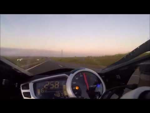 Top Speed Daytona 675r - ORIGINAL - Cortando em 6 marcha. - YouTube