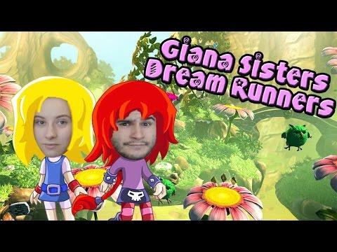 Giana Sisters Dream Runners ♦Сестры Бегуны♦ [ИНДИ ИГРА НА ДВОИХ]