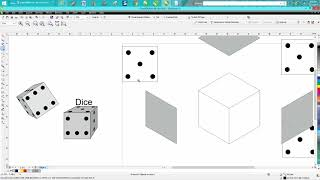 Corel Draw Tips & Tricks Dice how to draw part 3 better cube