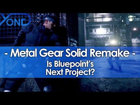 Is Metal Gear Solid Bluepoint's Next HD Remake?