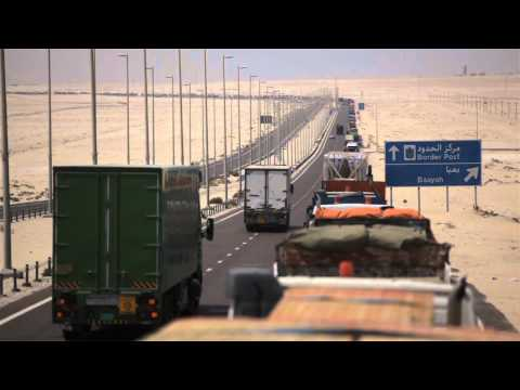 Video: Six day wait for lorries at UAE-Saudi border crossing