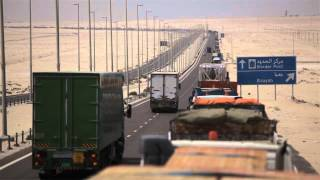 video six day wait for lorries at uae saudi border crossing