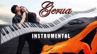 gerua - Dilwale-Instrumental on keyboard