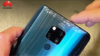 Huwaie Mate 20 Official Unboxing Review and Specifications