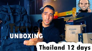 12 days in THAILAND: Travel UNBOXING