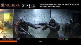 MODERN STRIKE Online game play | Part 1 | /Android