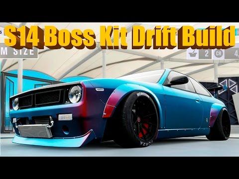 Save Forza Horizon 3 NEW DLC Silvia S14 BOSS KIT Widebody Drift Build Screenshots